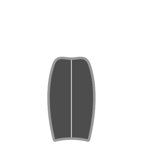 planche de bodyboard
